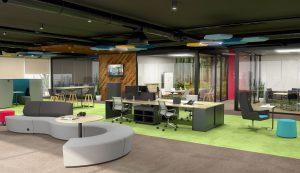 طراحی فضای اداری