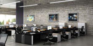 تمامی بخشهای مبلمان اداری ارتباط تنگاتنگی با راحتی کارمندان دارند.