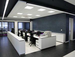 طراحی نوین اداری و ساختار دکوراسیون اداری